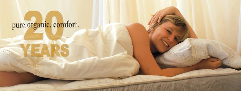cozy pure organic comfort